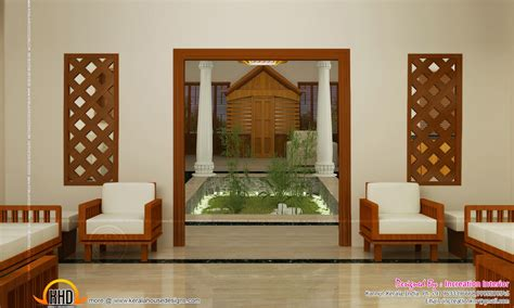 kerala home design with courtyard beautiful houses interior in kerala google search