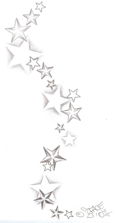 color star tattoo designs this what you should do quot random quot designs with swirls