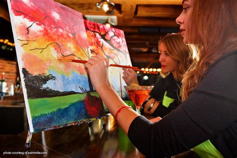 paint nite newmarket paint nights encourage creativity and camraderie look