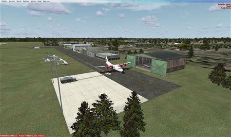 Simulation Room bathurst airport scenery for fsx