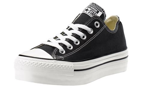 converse w all ox platform canvas shoes aw lab