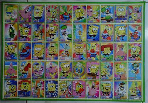 jual mainan poster gambaran seri spongebob squarepants