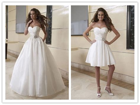 2 In 1 Brautkleid by My Wedding Dress 2 In 1 Wedding Dresses One Dress Two