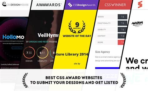 best css websites best css award websites to submit your designs and get listed