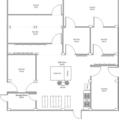 outstanding goat housing plans ideas best inspiration home