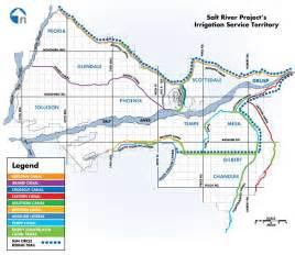 srp canal map calculate running distance for a run along