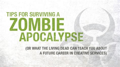 What I Can Teach You About Careers by Tips For Surviving A Apocalypse Or What The Living
