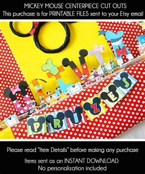 mickey mouse clubhouse centerpiece ideas mickey mouse birthday centerpiece mickey mouse