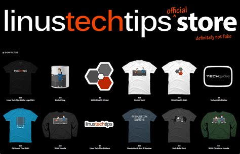 linus tech linus tech tips affiliates referral programs and sponsors
