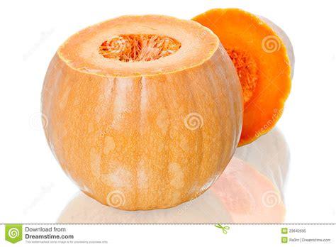 how to cut pumpkin cut the orange pumpkin royalty free stock photo image