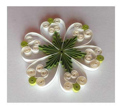 paper quilling tutorial step by step quilling pattern tutorial pdf instant download by