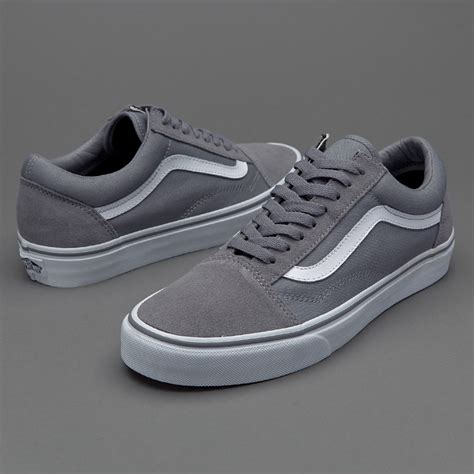 Vans Oldskool Cl Grey sepatu sneakers vans skool grey