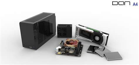 Livingroom Pc dan a4 sfx the smallest itx gaming case in the world