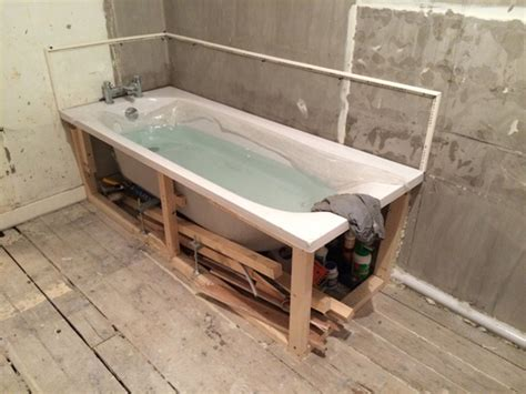 How To Install A Bathtub Door Bathtub Framing Support Bing Images