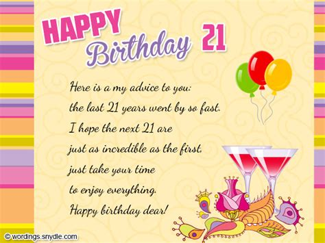 21st birthday quotes for