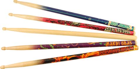 Handmade Drumsticks - custom stix personalized drumsticks with attitude