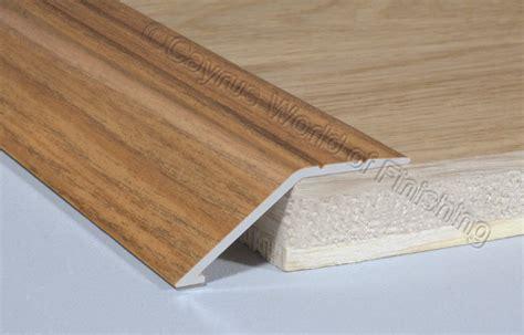 Wood Door Threshold by Self Adhesive Aluminium Wood Effect Door Floor Edge Trim