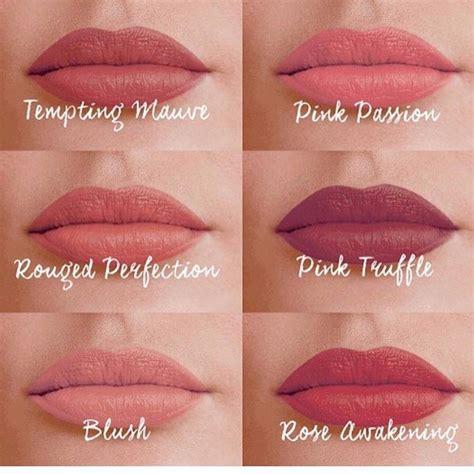 color matte lipstick avon true colour perfectly matte lipstick 6 new shades