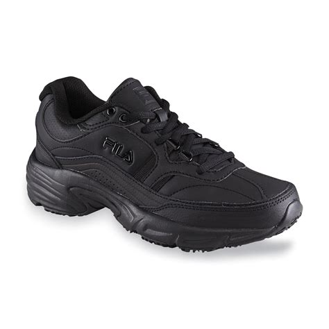 Sepatu Fila Gold fila s memory workshift black work shoe shoes