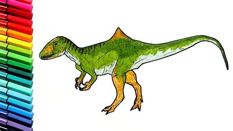 draw and color drawing and coloring dinosaur learn to draw dinosaurs