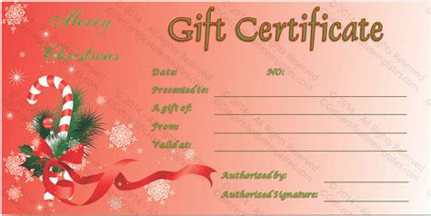 imgs for gt free holiday gift certificate templates