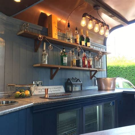 mobile bar catering bespoke rice trailer conversion mobile bar
