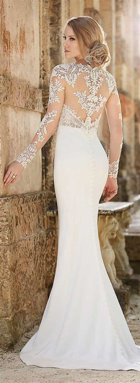 sleeve wedding dresses stunning sleeve wedding dresses modwedding