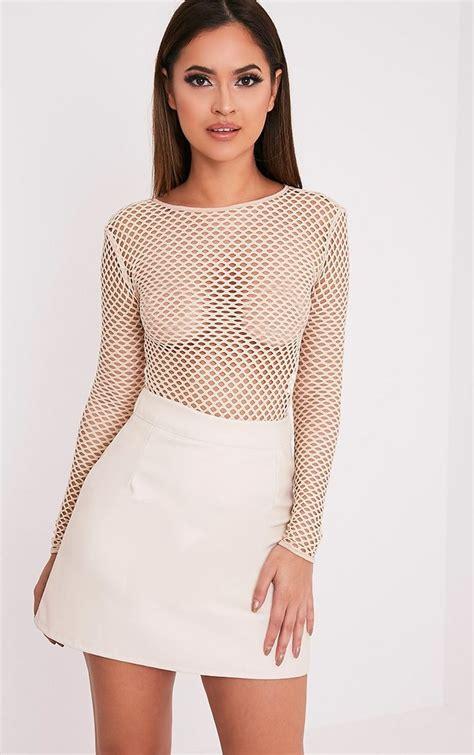 Dress Nets ada fishnet longsleeve bodysuit image 1 ideas fishnet and bodysuit