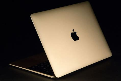 Laptop Macbook Gold 2015 apple macbook review the new gold macbook digital trends