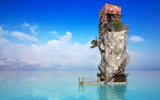 sea house wallpapers hd wallpapers