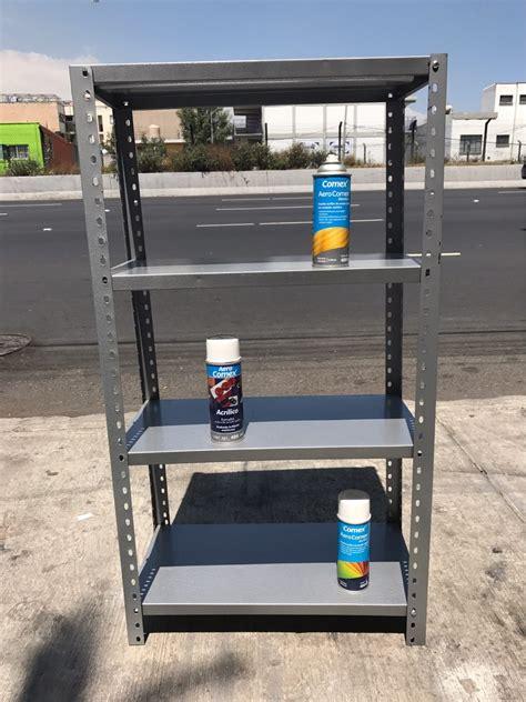 estante y anaquel anaquel metalico estante rack chico nuevos 60x30x1 10
