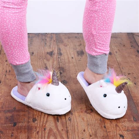 unicorn slippers uk unicorn slippers gift ideas accessories