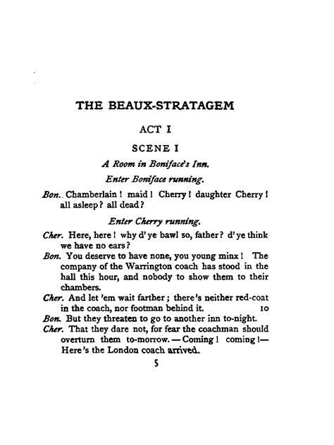 prologue template beaux stratagem by farquhar