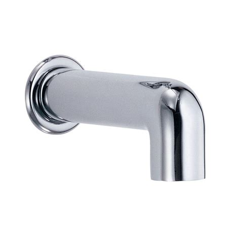 danze parma 6 1 2 in wall mount tub spout in chrome