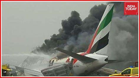 emirates flight 521 trivandrum dubai emirates flight crash lands in dubai 6
