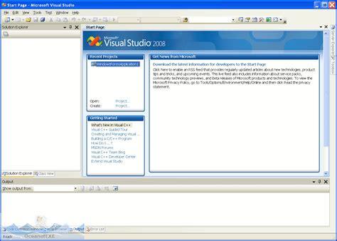 tutorial visual web developer 2008 visual studio 2008 download free oceanofexe