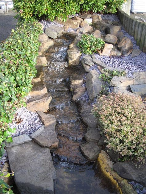 patio water garden pre formed waterfall water feature the rapids garden