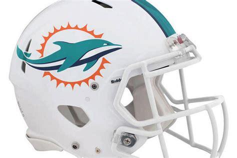 imagenes de los miami dolphins los delfines muestran nuevo logo pausa de los dos minutos