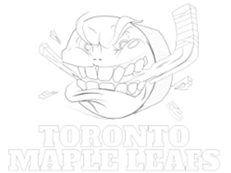 Printable Nhl Coloring Sheets Toronto Maple Leafs Coloring Pages