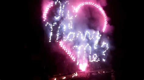 Fireworks Wedding Engagement Proposal   YouTube