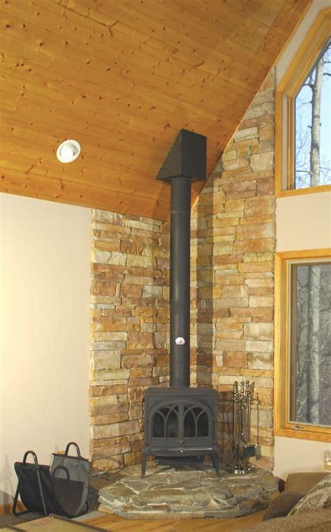 81 mesmerizing corner wood burning stove home design