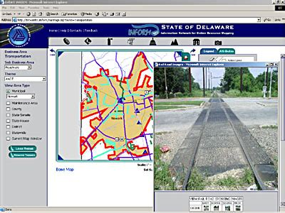 on the job: delaware dot brings gis to desktops