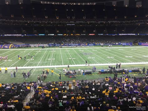 section 267 a superdome section 267 new orleans saints rateyourseats com