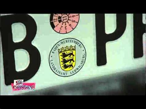 Ohne Kennzeichen Zum T V Fahren by 3d Kennzeichen Der H 228 Rtetest Doovi