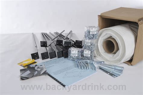 backyard ice rink kits ice rink kit standard sizes and great advice