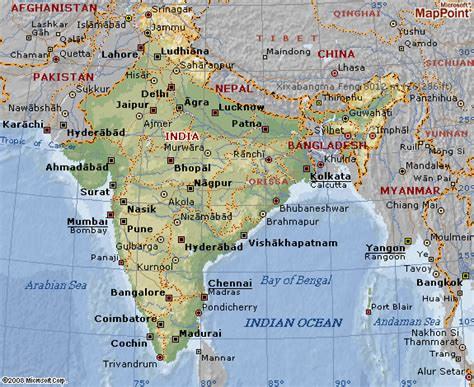 india map with cities geografi i verden april 2012