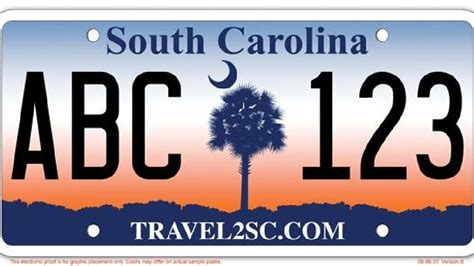 South Carolina Vanity Plates Search by Sc To Do Away With And Palmetto Tree License Plate