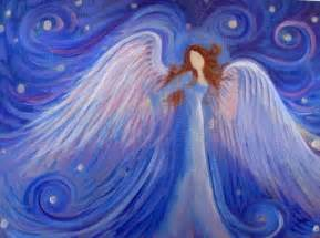 Angel art angel and acrylic paintings on pinterest