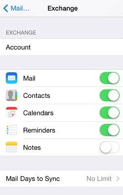 Office 365 Mail On Iphone 7 How To Configure Iphone Or For Office 365 Exchange