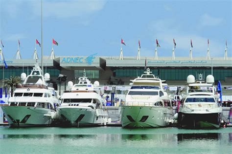boat show tomorrow inaugural abu dhabi boat show opens tomorrow